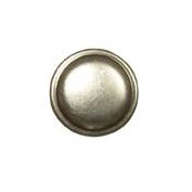 21 - Knop rond tin 25 mm