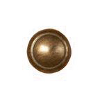 61 - Button round bronze 24 mm